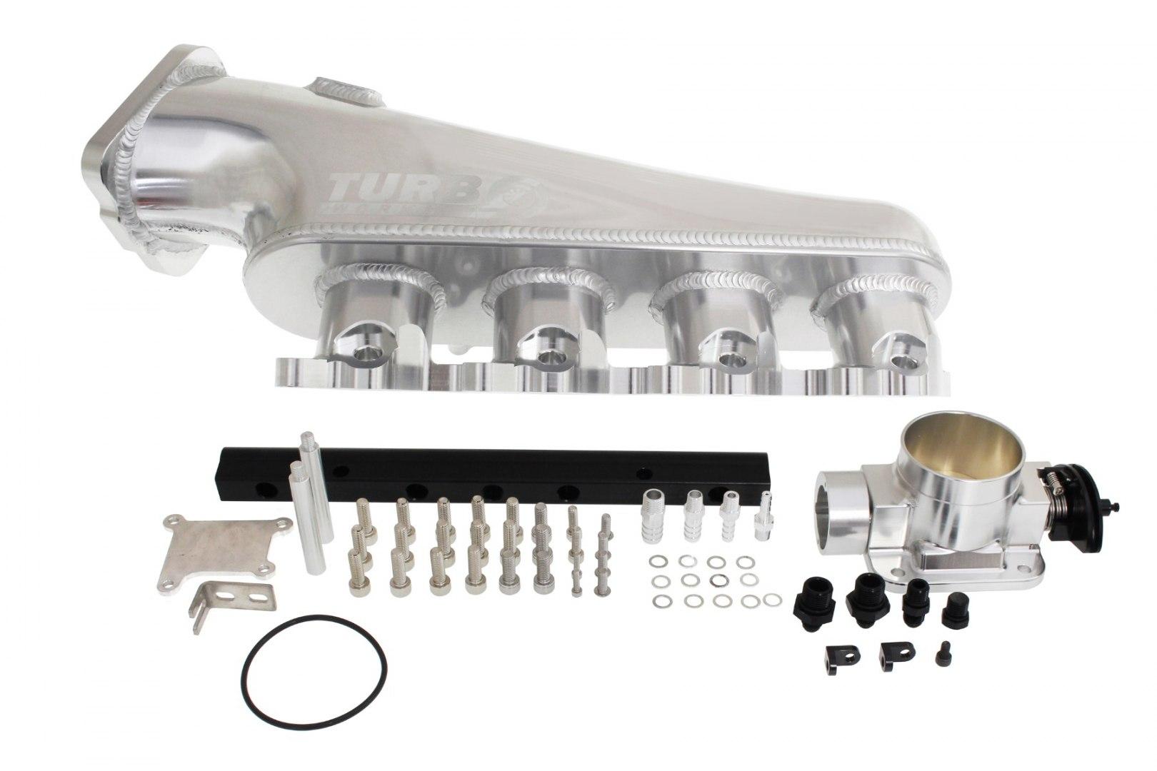 Kolektor ssący Nissan S13 CA18DET z przepustnicą i listwą paliwową - GRUBYGARAGE - Sklep Tuningowy